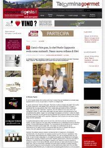 03-11-2016 cronachedigusto.it Carni e foie gras, lo chef Paolo Cappuccio svela come cucinarli. Nasce nuova collana di libri