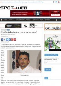 26-10-2016 Spotandweb.it Chef e televisione: sempre amore?