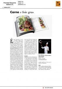 Febbraio 2017 Premiata Salumeria Italiana Carne e foie gras